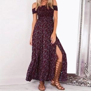 Dresses & Skirts - Floral  Autumn Maxi Dress